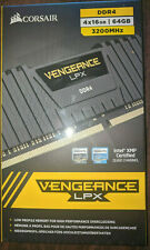 New Corsair Vengeance LPX DDR4 4x16GB(64GB total) 3200Mhz PC25600 SDRAM