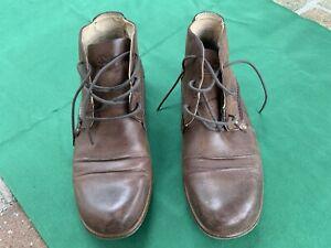 Dr. Martens Boots. Size UK9, EU43, Brown, Made In Vietnam