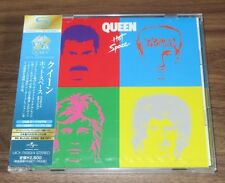 Queen JAPAN PROMO issue 2 x SHM CD obi SEALED Freddie Mercury HOT SPACE