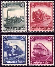 THIRD REICH 1935 mint German Trains stamp set!