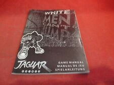 White Men Can't Jump Atari Jaguar Instruction Manual Booklet ONLY