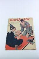 KARIKATUR #458 Turkish Magazine 1940s ADOLF HITLER COVER WWII Nazi Germany RARE