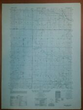 1950 Army map Wind Creek Kansas Sheet 6662 III NE w/ Aerial Photo Fort Riley