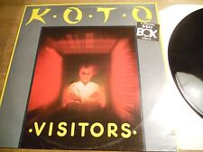KOTO VISITORS 3 REMIXES BEAT BOX RECORDS NCB SWEDEN RARE MAXI SINGLE SCARCE OOP*
