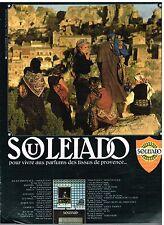 Publicité Advertising 1976 Les Tissus de Provence Souleiado