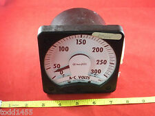 Westinghouse KA-241 Voltmeter Style 291B460A10 0-300VAC 25-100Hz Self Contained