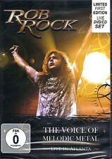 Rob Rock - The Voice Of Melodic Metal Limited Edition DVD CD Box Set NEW SEALED