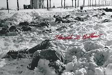Harold Billow signed Battle of the Bulge Malmedy Massacre Survivor WW II COA