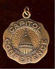 "Vintage CAPITOL Building Conference Medal  Medallion "" coin "" pendant"