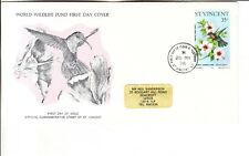 St Vincent 1976 Birds F.D.C. first day cover