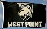 WEST POINT FLAG 3'X5' ARMY BLACK KNIGHTS BANNER 3X5 : FREE USA SHIPPING