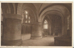 Gloucestershire Postcard - Cathedral - South Ambulatory - Ref TZ5902