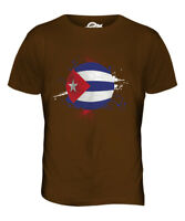 CUBA FOOTBALL MENS T-SHIRT TEE TOP GIFTWORLD CUP SPORT