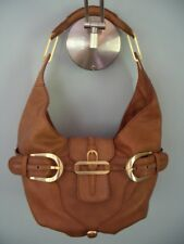Jimmy Choo Camel Leather Tulita Bag - Unique in Excellent Used Condition
