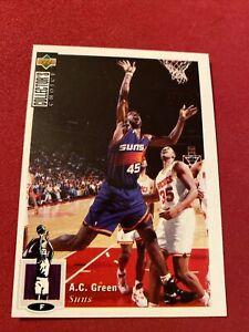 AC GREEN 95/96 Rare Collectors Choice Mini Thin Card/sticker 29
