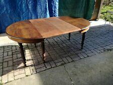 Tavolo ovale noce massello - Allungabile  365 cm - Francia XIX secolo