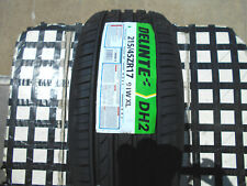 """4 NEW TIRES 215 45 17 DELINTE DH2 ALL-SEASON M&S 215/45ZR17"""" 50K RATED 91WXL"""