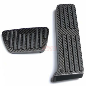 For Toyota RAV4 Camry Accessories Carbon AT Car Accelerator Brake Pedal Gas Pads