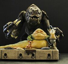 Star Wars ROTJ Legacy Jabba the Hutt's Throne Room Rancor Monster Beast Play Set