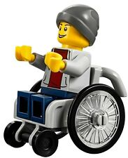 LEGO City In The Park Disabled Wheelchair & Minifigure Train Scenery Idea 60134