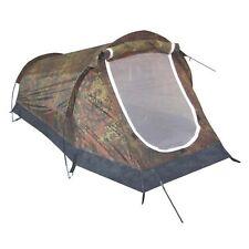 Tenda A Tunnel Mimetico 2 persone tenda due Uomo Tenda Tenda da campeggio verde oliva FLECKTARN