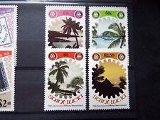 St. Lucia: 1980 Rotary Centenary set MNH