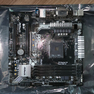 ASRock AB350M Pro4 Micro-ATX AMD Motherboard for Ryzen - Excellent condition