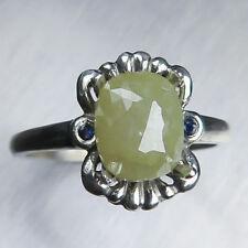 Natural Sapphire Fine Diamond Rings