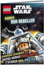 Fachbuch LEGO® Star Wars™ Kampf der Rebellen, mit Stickern und Poster, NEU