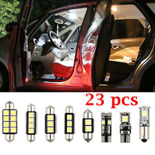 12V 6000K LED White Car Inside Light Dome Trunk Mirror License Plate Lamp Bulb
