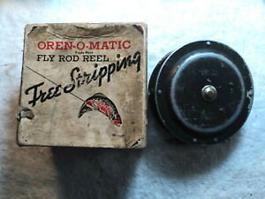 Vtg South Bend Orena Fly Fishing Reel 1165 Model A w 1126 Box Works Made In USA