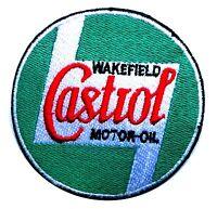 Castrol motor oil patch badge hot rod drag race gasoline sales service station