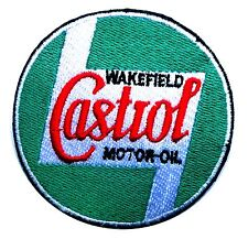 Castrol motor oil patch badge hot rod drag race gasoline sales service station