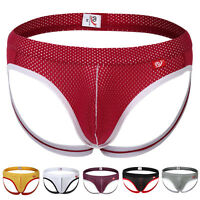 HOT SALE Mens Backles Briefs G-string Thong Bulge Pouch Tanga Underwear