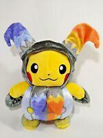 "Pokemon Center 2016 Plush Toy Doll Pikachu Halloween Circus Jester Japan 8"""