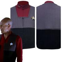 Details about  /Star Trek NEM Duty Jacket Cosplay Costume Top Casual Halloween Uniform Outfit