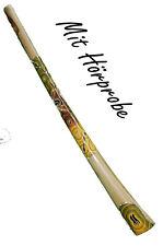 Teakholz Didgeridoo , proffesionelles Einsteiger Didgeridoo mit Soundbeispiel