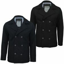 Button Hip Length Wool Military Coats & Jackets for Men