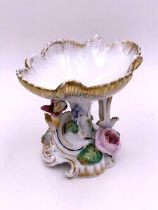 Baguier en porcelaine de Paris DLG de Jacob Petit XIXe Antique ring cup