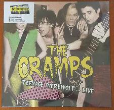 THE CRAMPS - Teenage Werewolf... Live COLOURED VINYL LP (NEW & SEALED)