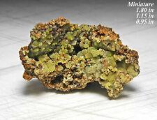 New ListingAg Mimitite Mexico Minerals Specimens Crystals Gems-Min