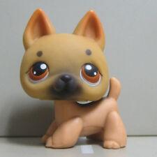 Littlest Pet Shop LPS Toys #61 German Shepherd Brown Puppy Dog Figure