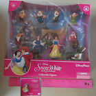 New Disney Princess Snow White & 7 Dwarfs Collectible Figures 9 Pcs Cake Topper