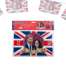 Royal Wedding Harry & Meghan Union Jack Themed Party Decorations & Tableware