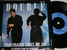 "7"" - Double Your prayer takes me off - UK 1986 # 4309"