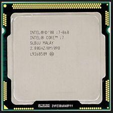 INTEL CORE I7-860 SLBJJ 2.8GHZ 8MB L3 CACHE SOCKET 1156 CPU PROCESSOR Tested