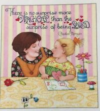 Mary Engelbreit Artwork-There Is No Surprise-Handmade Magnet