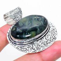 """Kambaba Jasper Gemstone Ethnic Handmade Gift Jewelry Pendant 1.97"""" VK-9001"""