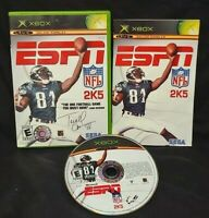 ESPN NFL 2K5 Football -  Microsoft Xbox OG Rare Game Complete Working