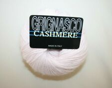 Grignasco 100% Fine Cashmere Yarn in Pink Made in Italy